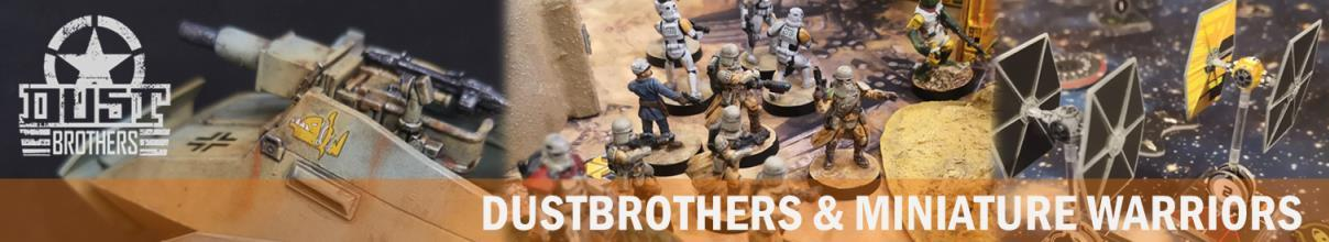 Dustbrothers & Miniature Warriors Logo